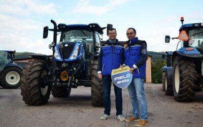 Traktory T5 a T6 brázdí ČR