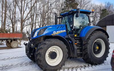Nový traktor vP.S. Jezbořice s.r.o.